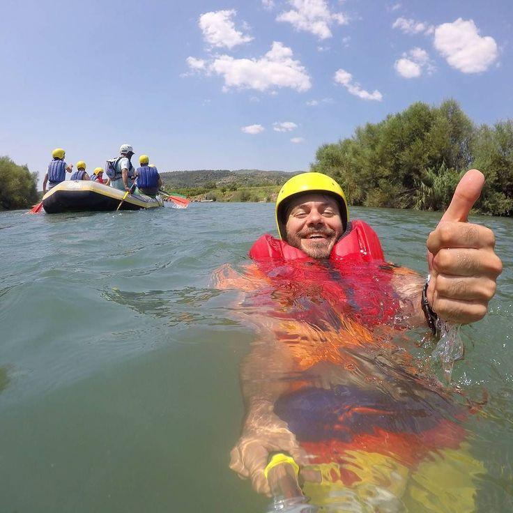 Καλημέρα!!! Μπανακι στο ποταμι! #happytraveller #elpida2017 #river #alfeios #olympia #rafting #travel #explore #peloponnisos #greece #adventure