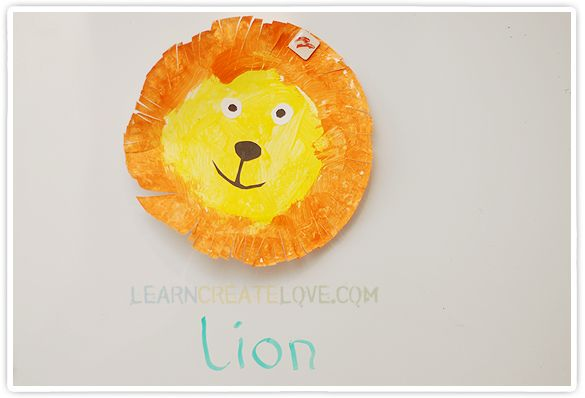 { Easy Lion Craft }