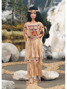 Free Autumn Shalee Doll Indian princess crochet pattern for Barbie