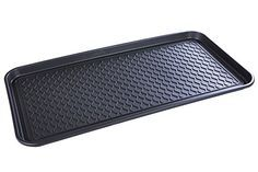 Multi-Purpose Non Slip Boot Shoe Tray Mat, for Dog Pee Pad Training, Cat Litter Box, Garden Tools, Plant Pots, Painting, Laundry, Garage, Entryway. Indoor or Outdoor use. 30 x 15 x 1.2 Inches