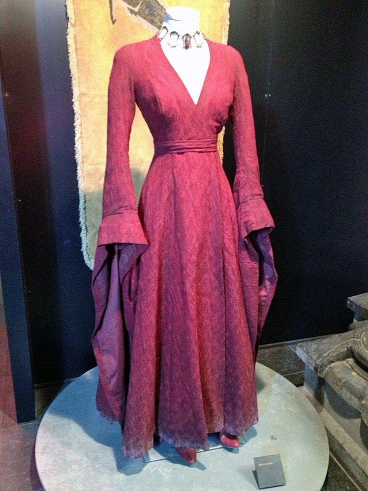 High Priestess Melisandre Women's Red Costume - My Fancy Dress Ireland