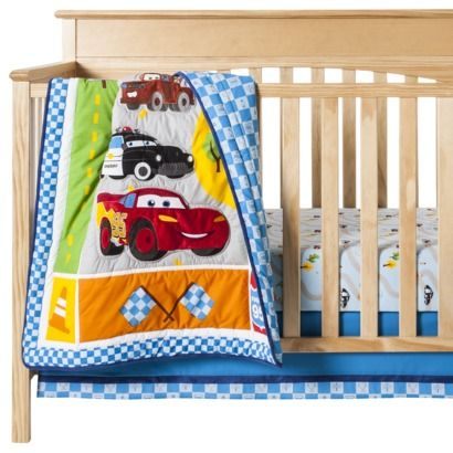 Disney Cars Junior Junction 3pc Crib Set : Target