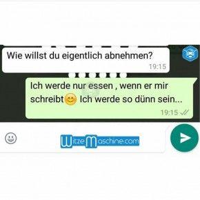Lustige WhatsApp Bilder und Chat Fails 158 - Wann essen?