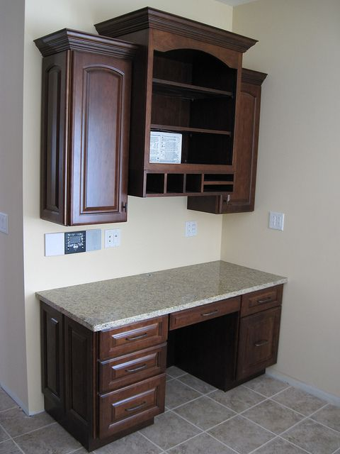 Kitchen Desk- bottom part on empty wall