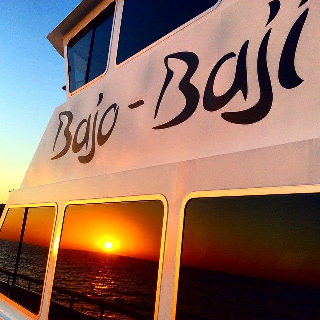 A glamour shot of the newest liveaboard in the Blue Marlin Fleet. The Bajo Baji is a charter only luxury liveaboard offering all the comforts and amenities of home.