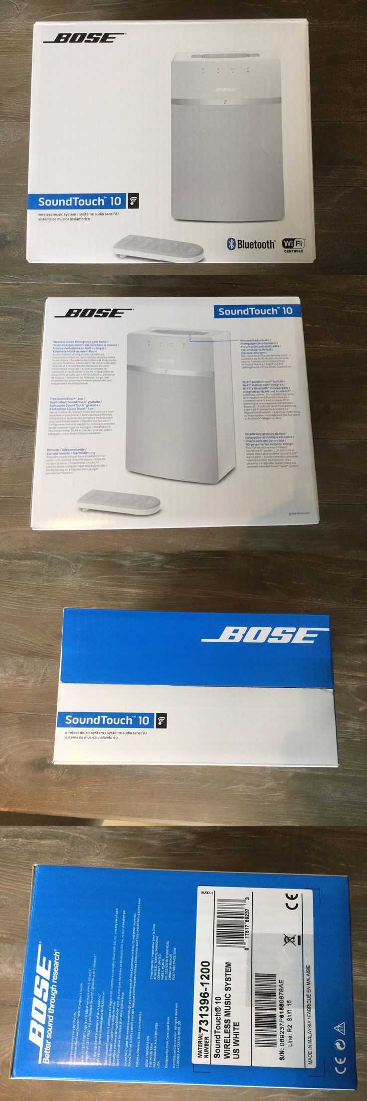Other TV Video and Home Audio: New Factory Sealed Bose Soundtouch 10 Wi-Fi Wireless Music System -White -> BUY IT NOW ONLY: $176.99 on eBay!