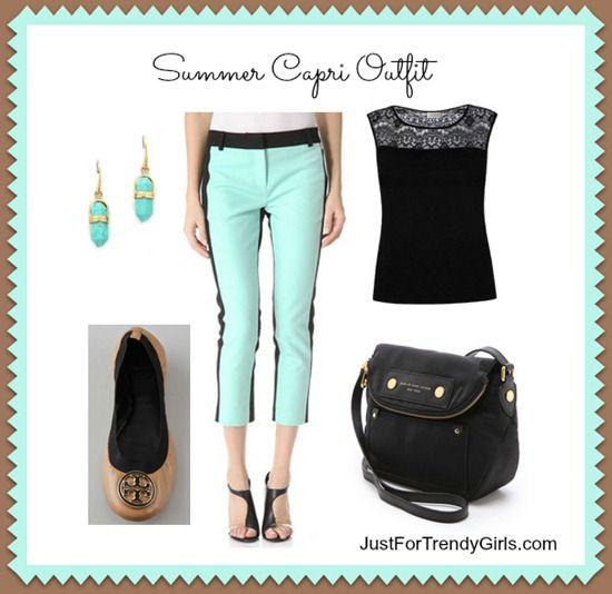 Summer Capri Outfit