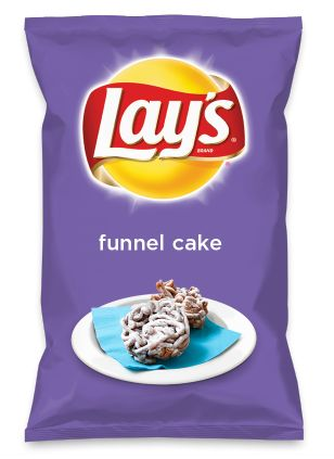Wouldn't funnel cake be yummy as a chip? Lay's Do Us A Flavor is back, and the search is on for the yummiest flavor idea. Create a flavor, choose a chip and you could win $1 million! https://www.dousaflavor.com See Rules.