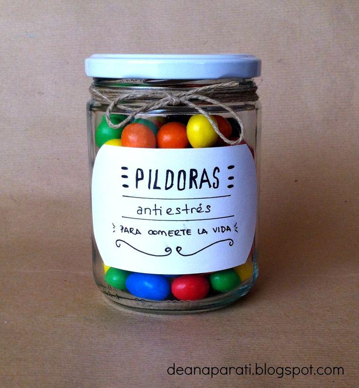 Tutorial DIY: Pildoras antiestres para comerte la vida :) Facilísimo