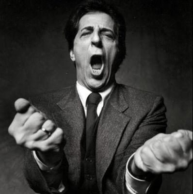 Giorgio Gaber fotografato da Guido Harari