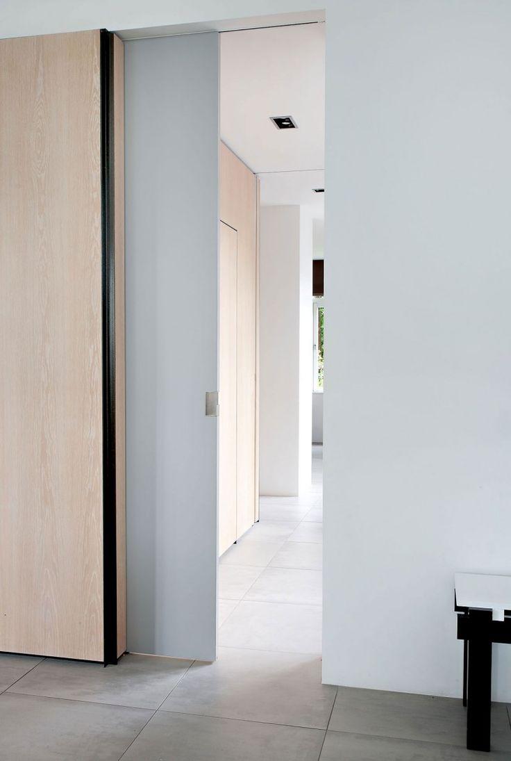 Rietveld Bungalow by Remy Meijers: The Doors, Doors Large, Interiors House, Concrete Floors, Wall Doors, White Ceiling, Rietveld Bungalows, Sliding Doors, Doors Closet