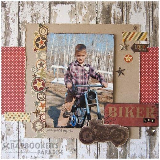 Biker Boy layout