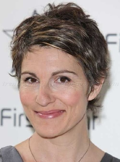 Short Layered Hairstyles For Women Over 50 | Short