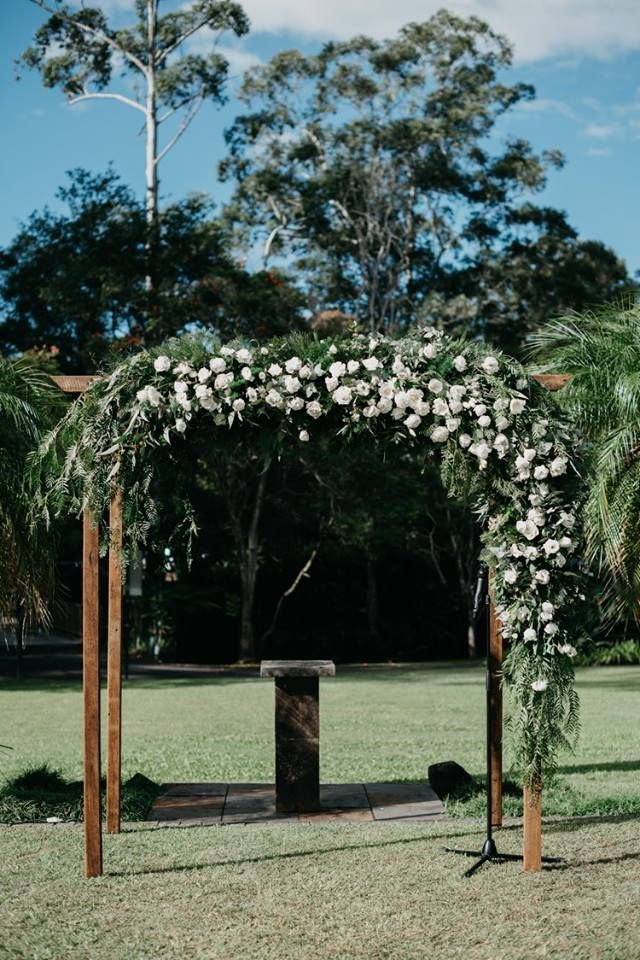 Beautiful Garden Wedding Ceremony Inspiration From Coolibah Downs