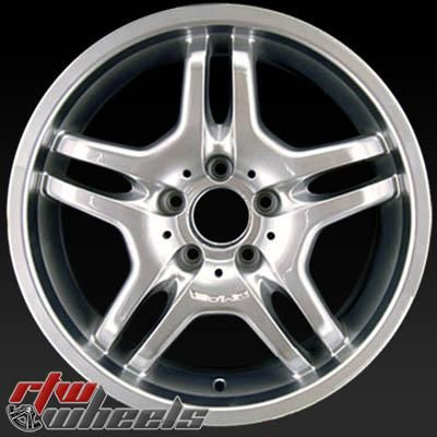 "Mercedes CL500 wheels for sale 2006. 18"" AMG Hypersilver rims 65313 - http://www.rtwwheels.com/store/shop/mercedes-cl500-wheels-for-sale-18-amg-hypersilver-65313/"