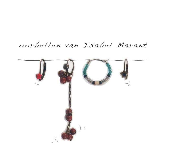 Recept tegen een alledaagse outfit: bellen van Isabel Marant.