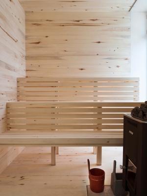 aspen wood sauna