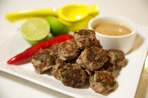 thai meat balls
