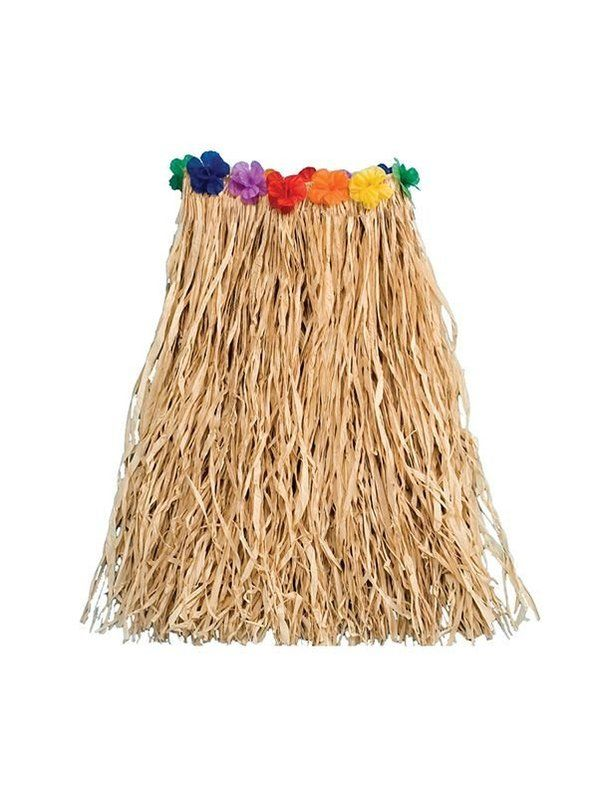 how to make a grass skirt out of raffia