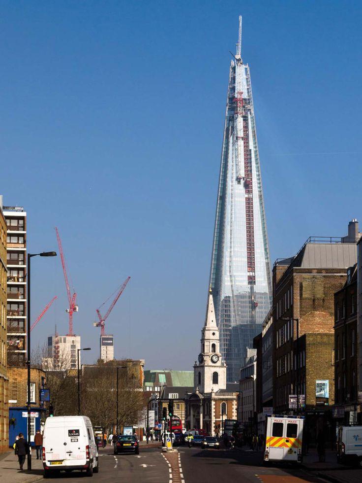 Renzo Piano Building Workshop, Adamson Associates Architects · Shard / London Bridge · Divisare
