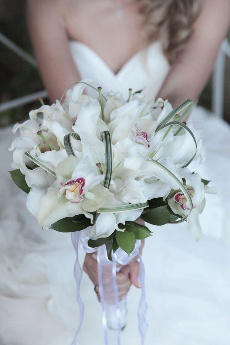 Ramo Orquídeas blancas