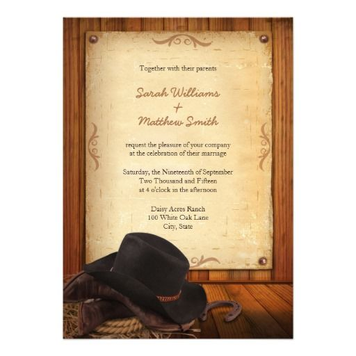 western wedding invitations best 25 western wedding invitations ideas on 1263