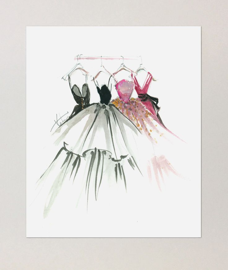 Katie Rodgers, Dreaming in Gowns - Paperfashion