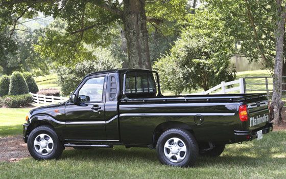 Small Diesel Trucks VW | and ugly as a mud fence mahindra clean diesel pickup trucks and suvs