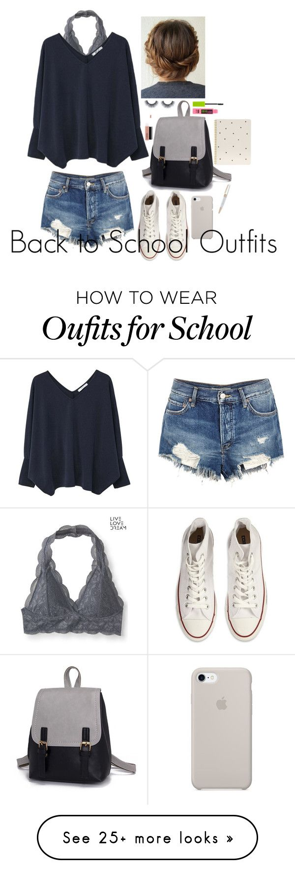 """Back to School Outfits # 13"" von gussied-up auf Polyvore mit Aéropostale, …"