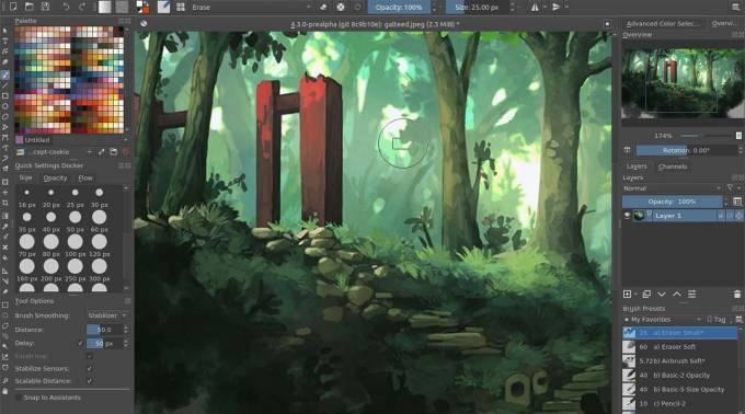 Krita Open Source Digital Painting App Arrives On Chrome Os And Android Krita A Popular Open Source Digital Pai Digital Art Software Digital Painting App Krita