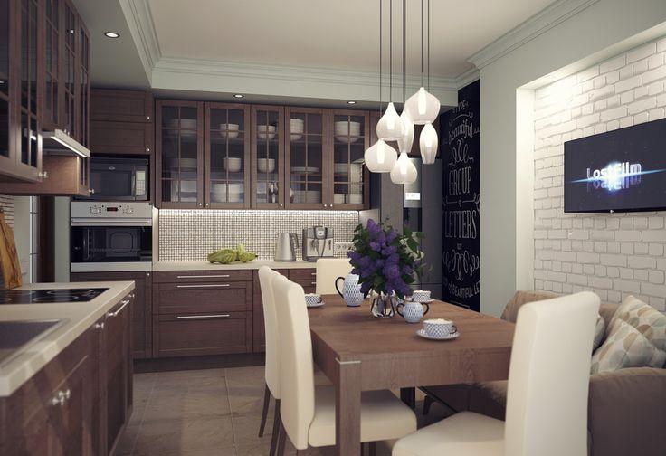 Кухня в загородном доме - ALNO. Современные кухни: дизайн и эргономика | PINWIN - конкурсы для архитекторов, дизайнеров, декораторов