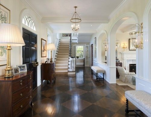 gorgeous traditional foyer