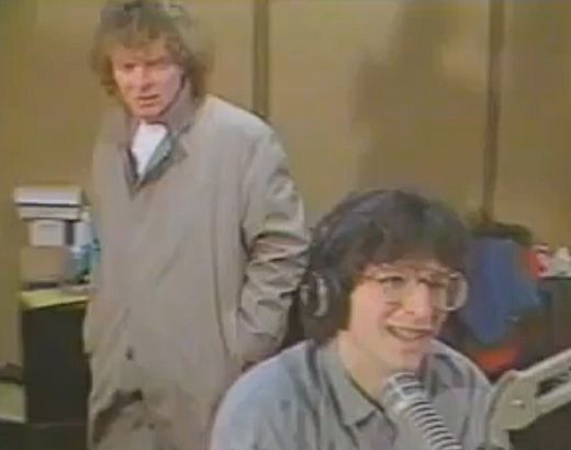 Howard Stern and Don Imus on WNBC in the 1980s. Howard Stern knew how to entertain via radio (K-Rock and WNBC)
