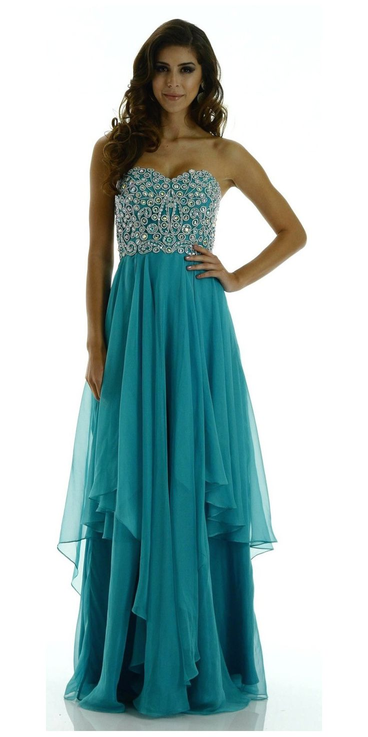 39 best prom images on Pinterest | Layered skirt, Dress prom and ...