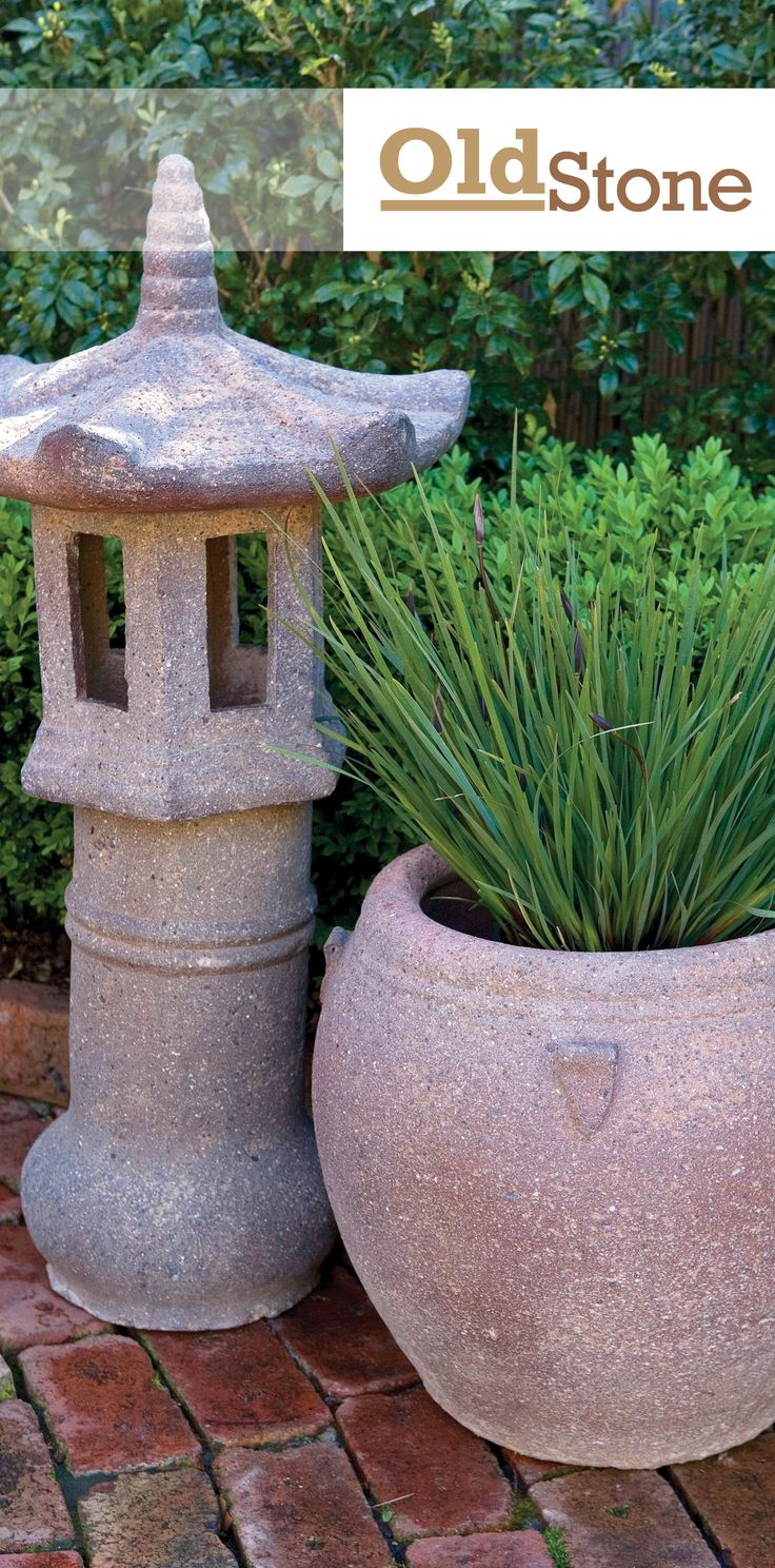 Northcote Pottery's OldStone collection features a range of earthy, textured pots, urns,water bowls and exotic feature pieces which look great with or without plants. With a sandblasted finish, this collection has a unique rustic appeal, and is perfect for adding style and decoration to popular Balinese, Tropical or Asian style gardens. http://www.northcotepottery.com/pottery/oldstone