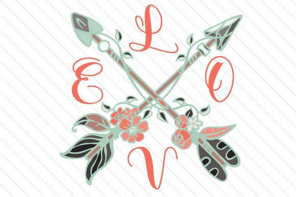 Love cross arrows