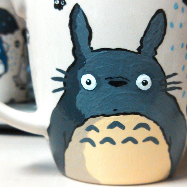 totoro mug - tasarım kupalar