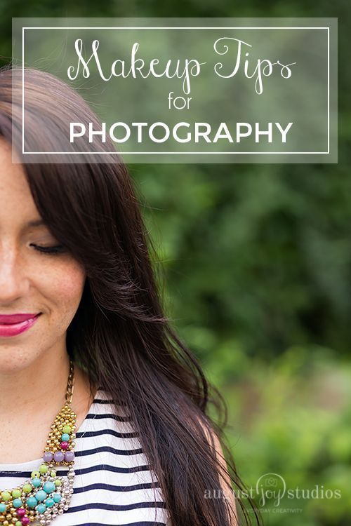 Makeup Tips for Photography by August Joy Studios