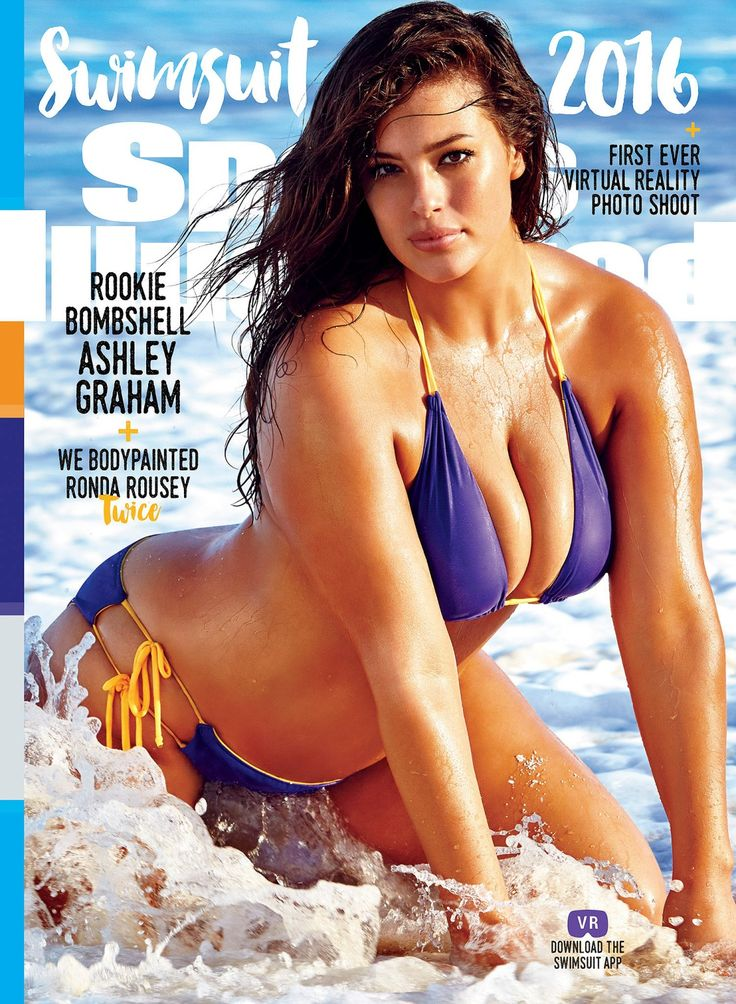 Inspiring Fashion and Beauty Stories of 2016 - Ashley Graham's Sports Illustrated Swimsuit cover