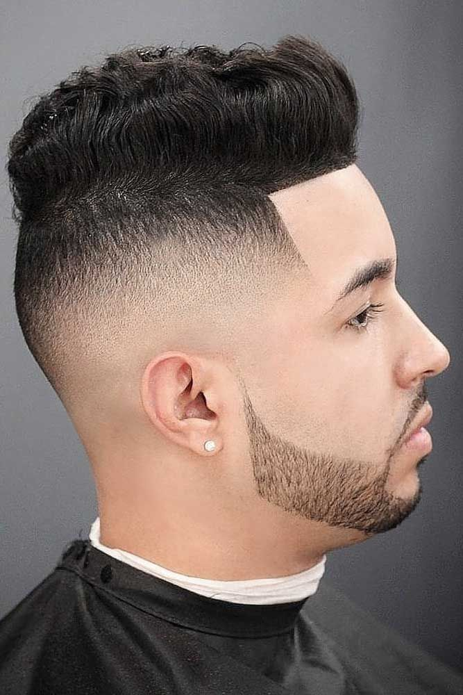 620f3b41eb 19 Spectacular High Top Fade Cuts To Tame Your Thick Texture | Men's ...