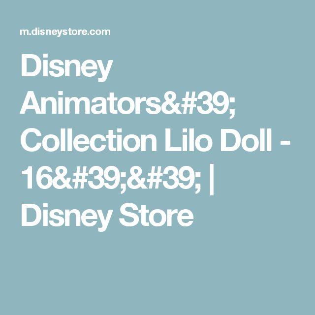Disney Animators' Collection Lilo Doll - 16'' | Disney Store