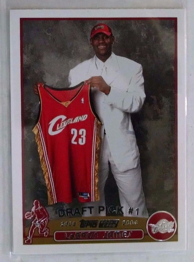 2003-04 Topps #221 LeBron James Rookie Card #ClevelandCavaliers