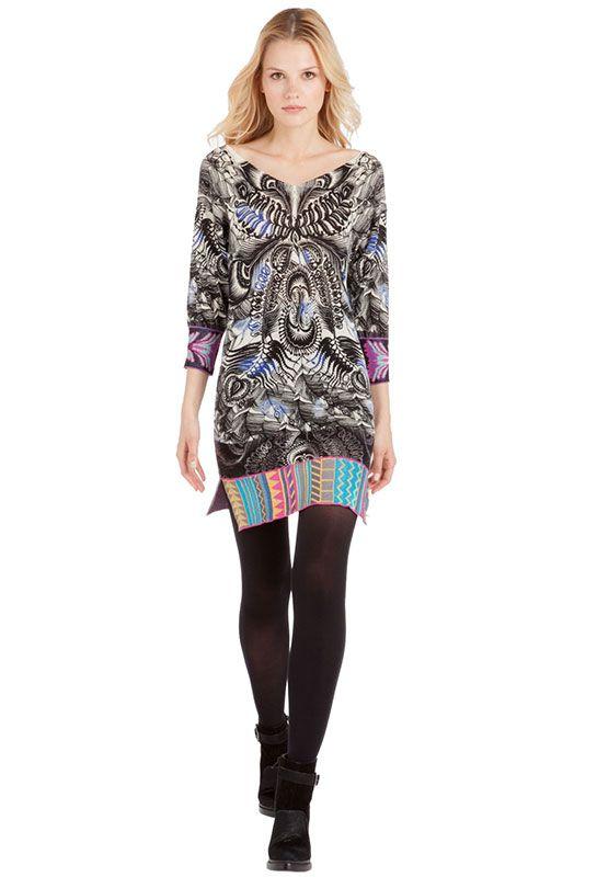 Купить платье Custo Barcelona (Кусто Барселона) Un Akita в интернет-магазине