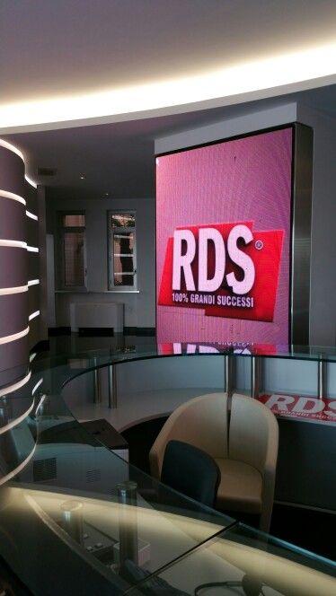 Ledwall RDS - Roma