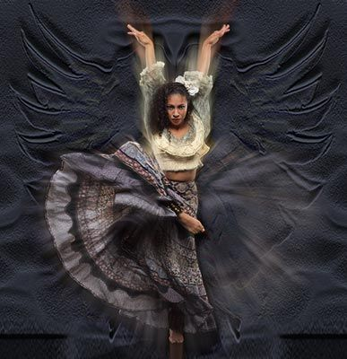 When A Gypsy Dances, The World Changes... Dance, Gypsy, Dance. http://www.healingwithpresenceandbeauty.com/
