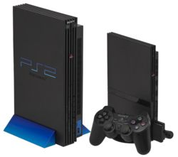 PS2 - versions 1 and 2. My v1 faceplanted on concrete and died =(  it was all modded out, too. Still have v2. Now I guess I'll someday get a PS3 (likely when the PS4 comes out ha!)