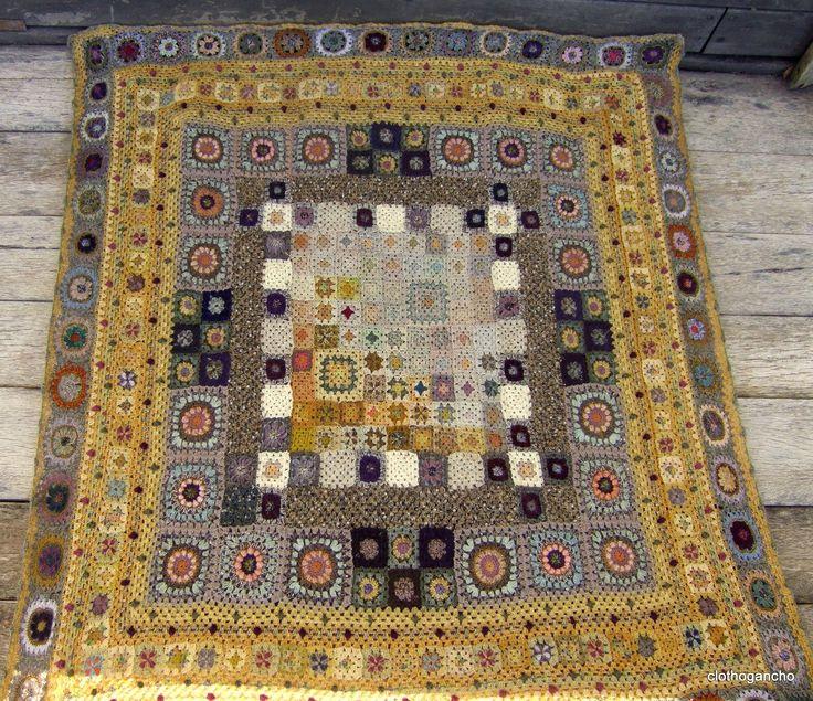 DSCF6404 - Photo de plaids et couvertures crochet - clothogancho2
