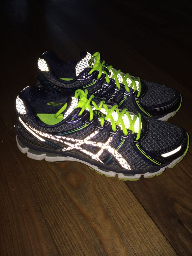 my asics Kayano 19 light show :-)