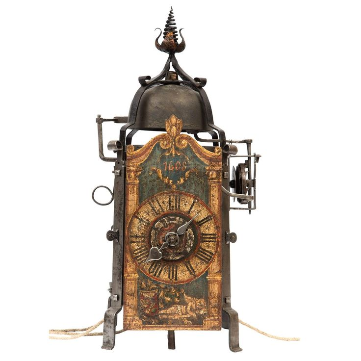 Good Iron Go and Striking Gothic Chamber Clock with Alarm ...