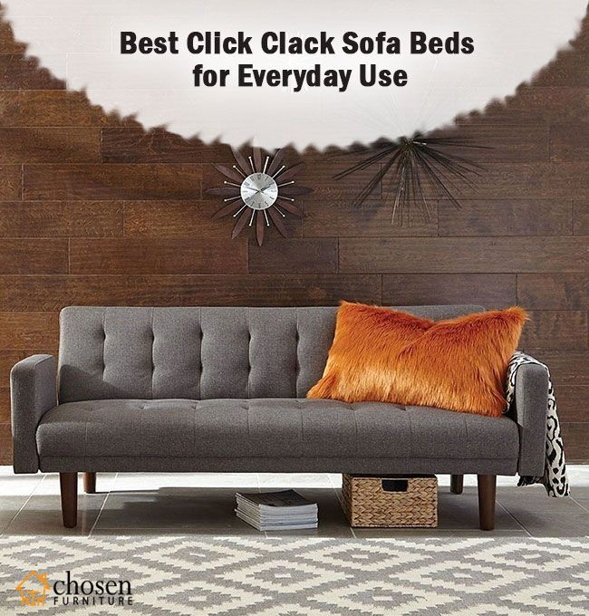 Best Click Clack Sofa Beds For Everyday Use Reviews Sofa Sofa Bed Bed Reviews